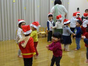 今日は楽しいクリスマス会
